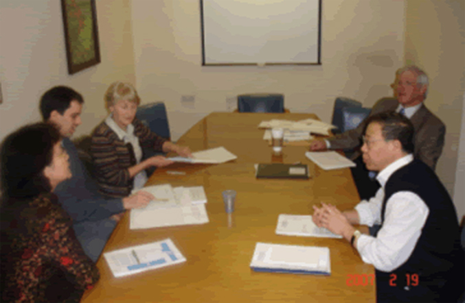 Photo of TCMAB Board Members Meeting on 19 Febuary 2007